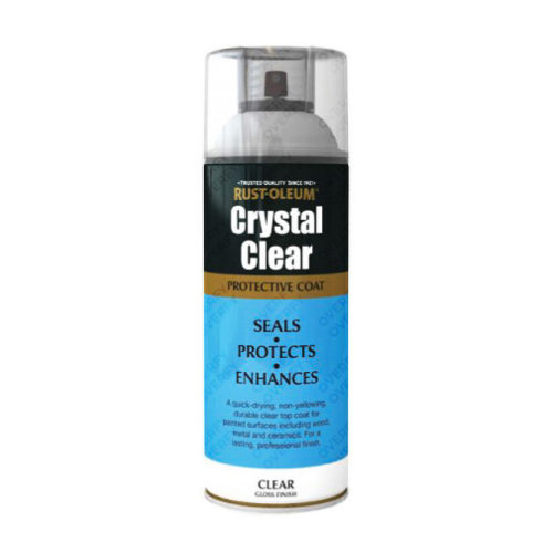 Rust-Oleum Crystal Clear Lacquer Top Coat Gloss