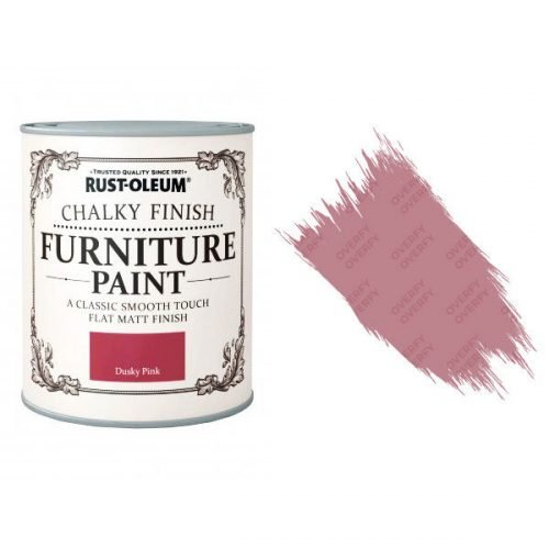 Dusky Pink 750ml Rust-Oleum Chalky Furniture Paint