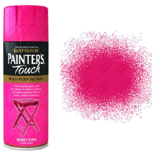 Rust-Oleum Painters Touch Berry Pink Gloss 400ml